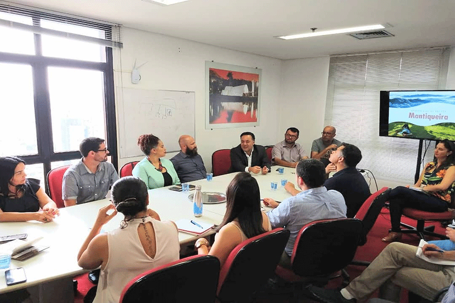 #VisiteMantiqueira reúne equipe para definir desenvolvimento e lançamento do projeto