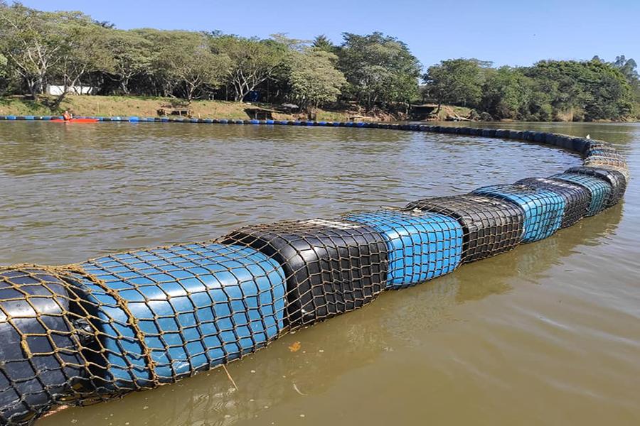 Rio Verde ganha uma da maiores ecobarreiras do Brasil