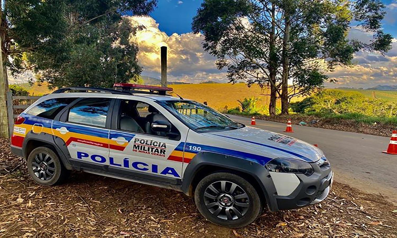 Polícia Militar recupera materiais furtados de obra em São Lourenço
