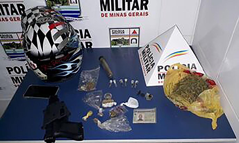 São Lourenço: professor é preso por tráfico de drogas após fugir da PM