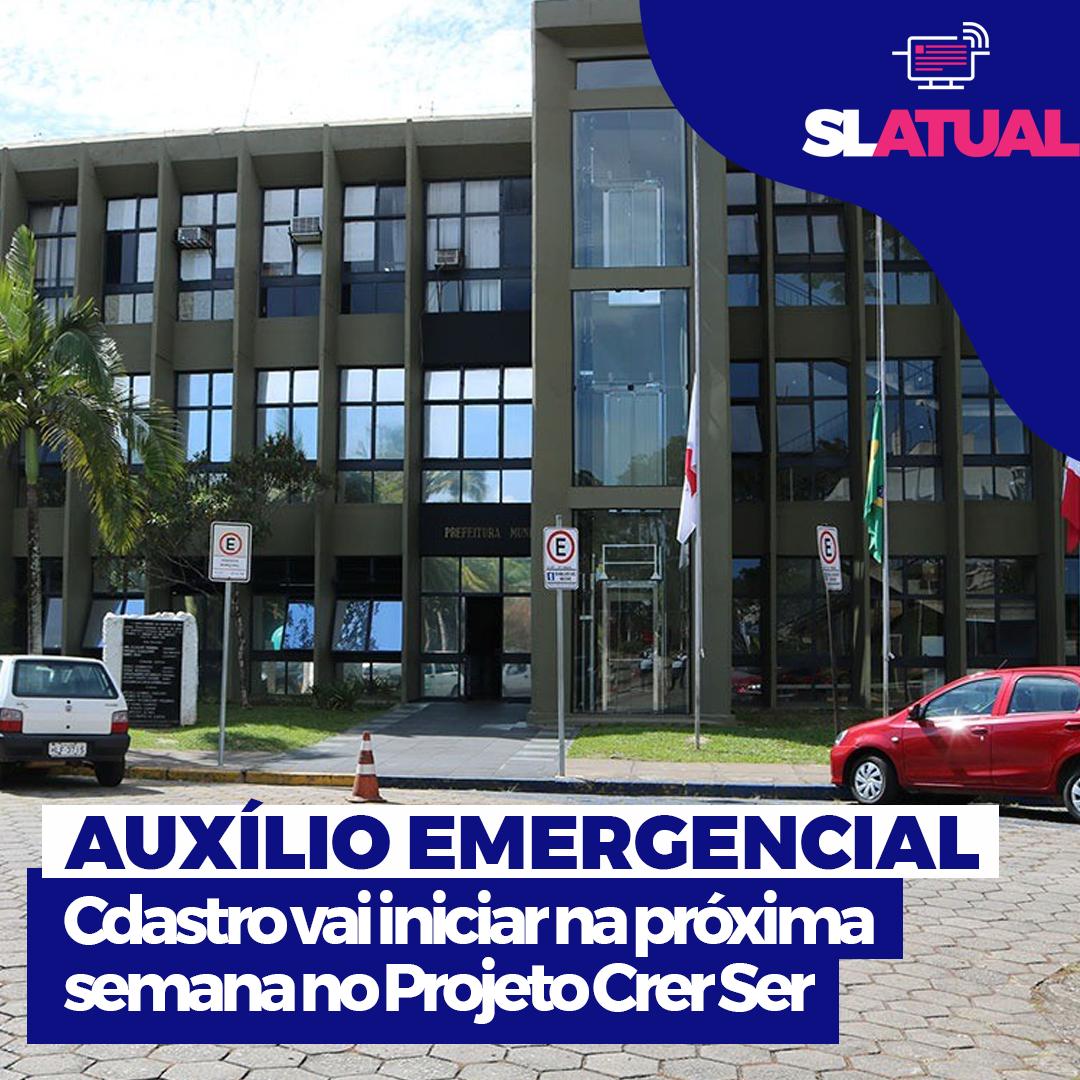 Cadastro para o Auxílio Emergencial Municipal inicia no próximo dia 5 de maio